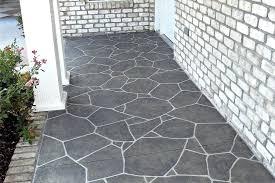 Outdoor Floor Painting Ideas Painted Concrete Porch Image Of Painting Concrete Porch Design