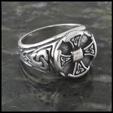 cross rings silver images Large celtic cross ring in sterling silver walker metalsmiths jpg