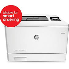 hp color laserjet pro m452nw laser printer staples