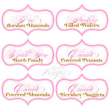 Candy Labels For Candy Buffet by Dessert Table Candy Buffet Labels Child Party Ideas Children