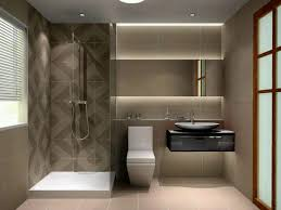 bathrooms mirrors ideas wall mounted brown varnished wooden sink
