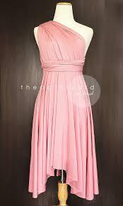 blush bridesmaid dress blush bridesmaid dress convertible dress infinity dress