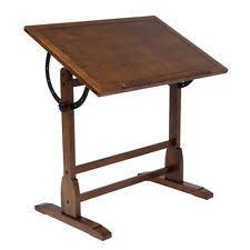 Drafting Table Cheap Studio Designs 13304 Vintage Drafting Table Rustic Oak Ebay