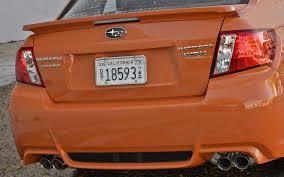 orange subaru wrx 2013 subaru wrx and sti special edition 2012 sema auto show