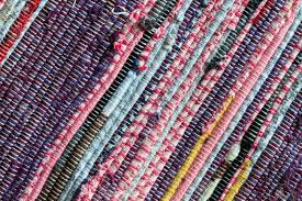 Fabric Rug Colorful Rag Rug Carpet Close Up Stock Photo Picture And Royalty