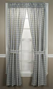 best plaid curtain and drapes images on pinterest rod pocket