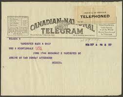how do you send a telegram be to your librarian send a telegram and sue gaga