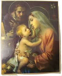 free rosaries holy family wall plaques free catholic rosaries vatican postcards