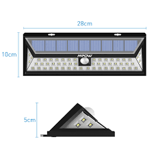 Led Solar Lamp Picture More Detailed Picture About 24 Mpow 54 Led Night Lighting Waterproof Solar Lights Wide Angle Led