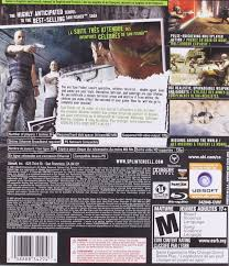 amazon com tom clancy u0027s splinter cell double agent playstation