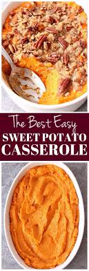 the best easy sweet potato casserole recipe crunchy sweet