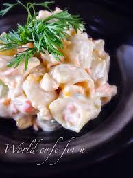 creamy cold pasta salad u2013 world cafe for u