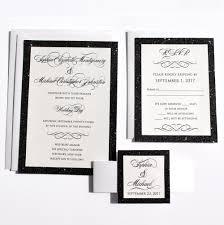 black tie wedding invitations black tie story signature wedding invitation citrine designs