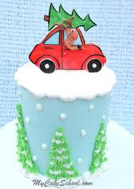 car cake toppers rudolph and car cake topper a cake decorating tutorial