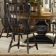 hooker furniture sanctuary spindle back dining arm chair set of