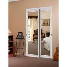 Interior Sliding Doors Home Depot Reliabilt 48 In X 80 In White 3 Lite Interior Sliding Door Set