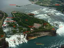 Niagara Falls State Park Map by Large Niagara Falls Maps For Free Download And Print High
