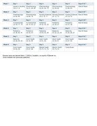 saunders study calendar allnurses