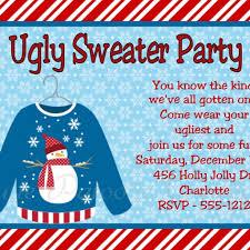 sweater invitation wording dancemomsinfo