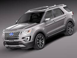 Ford Explorer 2016 Interior 2018 Ford Explorer Platinum Interior Autosdrive Info