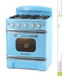 blue retro stove stock illustration image of chill oven 42134083