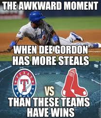 Dee Gordon Meme - mlb memes on twitter dee gordon has a lot of steals this year