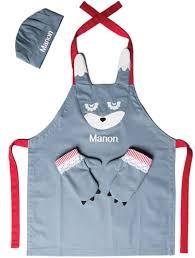 tablier cuisine enfant personnalisé tablier enfant