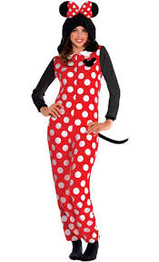 Minnie Mouse Womens Halloween Costume Sassy Minnie Mouse Costume Party