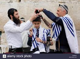 bar mitzvah in israel a boy celebrates his bar mitzvah at the western wall