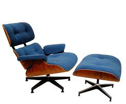 vintage eames lounge chairs and ottomans get maharam makeovers for