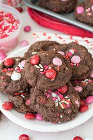 valentines day cookies pudding cookies for crust
