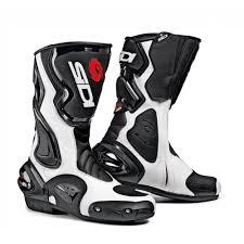 white motorbike boots sidi motorcycle boots sidi cobra white black motorcycle boots