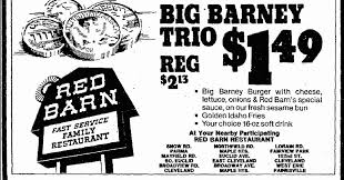 Red Barn Restaurant Nj Poll How Many Of These Defunct Fast Food Chains Did You Eat At