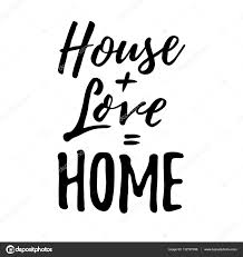 Housewarming by House Love Home Housewarming Lettering Typography Good For Pos