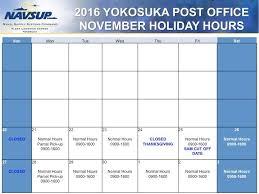 2016 yokosuka post office hours commander fleet activities