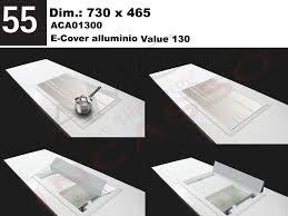 lavello elleci accessorio 55 lavello elleci aca01300 base e cover in alluminio