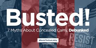 Colorado Concealed Carry Reciprocity Map by Busted 7 Myths About Concealed Carry Debunked U2013 Resist The Gun Lobby