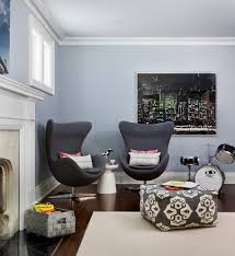 gray paint color ideas home office beach style with wood chair