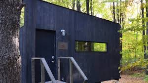 the getaway mini tiny house for rent youtube