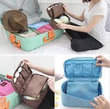 Underwear Organizer Women Travel Bra Underwear Lingerie Organizer Bag Cosmetic