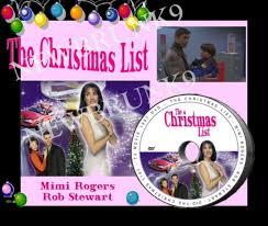 christmas list dvd the christmas list dvd free ship mimi rogers for sale