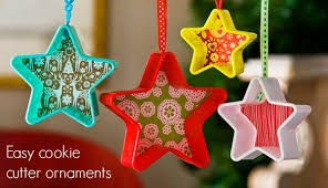 diy cookie cutter ornaments for less than 1 diycandy com