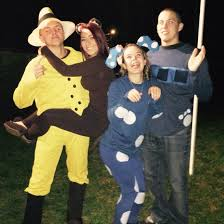 Curious George Halloween Costumes Couples Cartoon Costume Ideas Curious George Blues Clues
