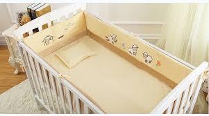 aliexpress com buy 6pcs crib baby bedding set for boy