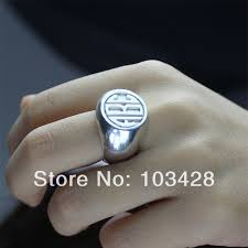 Monogrammed Silver Ring Aliexpress Com Buy Personalized Engraved Monogram Rings