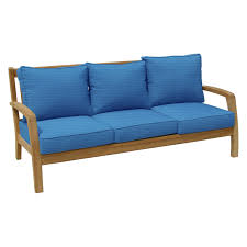 solid wood sofa manufacturer from foshan china 1 cushion with back
