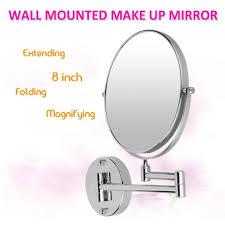 wall decor wall mounted magnifying mirror images wall mounted