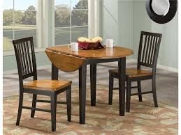 circle table with leaf round table luxury glass dining set on drop leaf neuro furniture