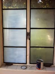 How To Frost A Bathroom Window Diy Frosted Privacy Windows 4 Steps