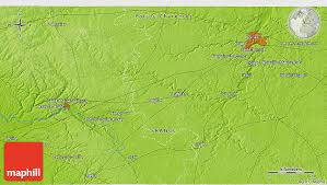 map of poitiers physical 3d map of poitiers